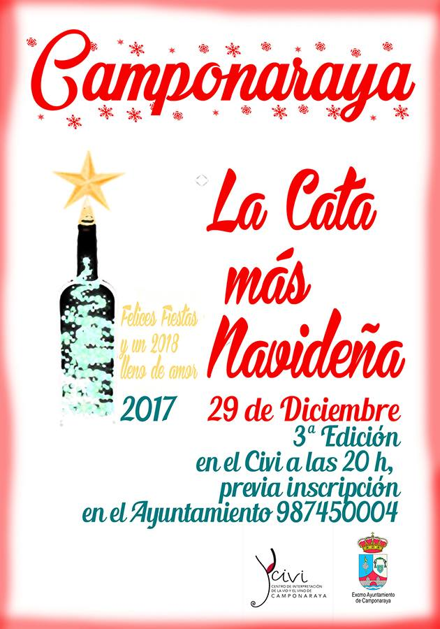 Tercera edición de la cata más Navideña en el Civi de Camponaraya 1