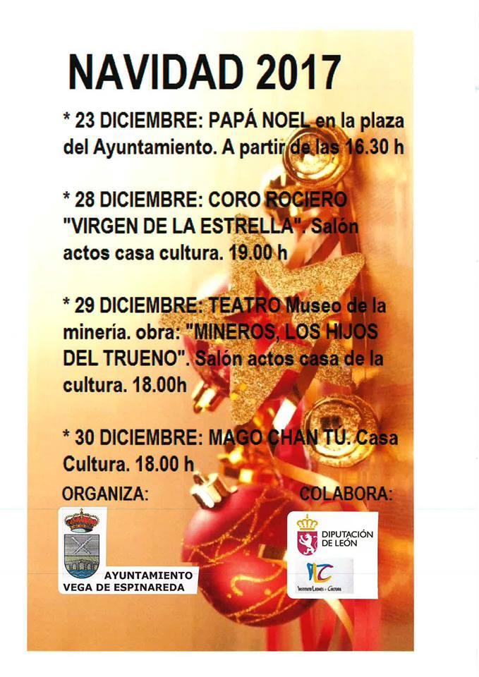 Actividades de Navidad en Vega de Espinareda 1