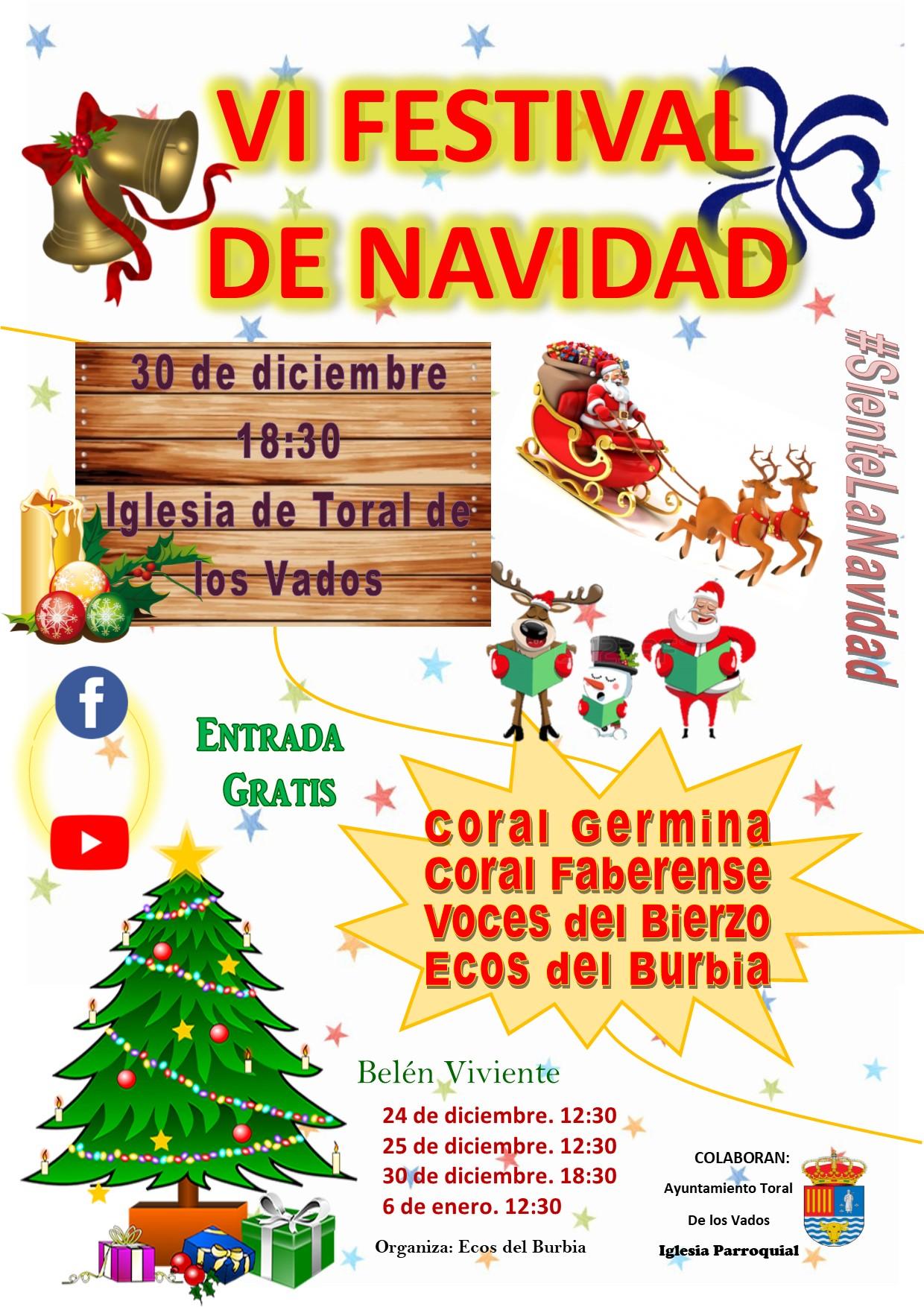 VI Festival de Navidad en Toral de los Vados 1