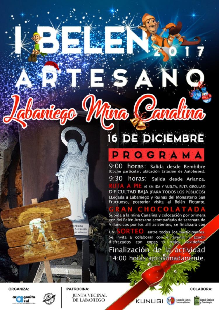 La Asociación Aragonito Azul organiza una marcha a pie a la Mina Canalina 1