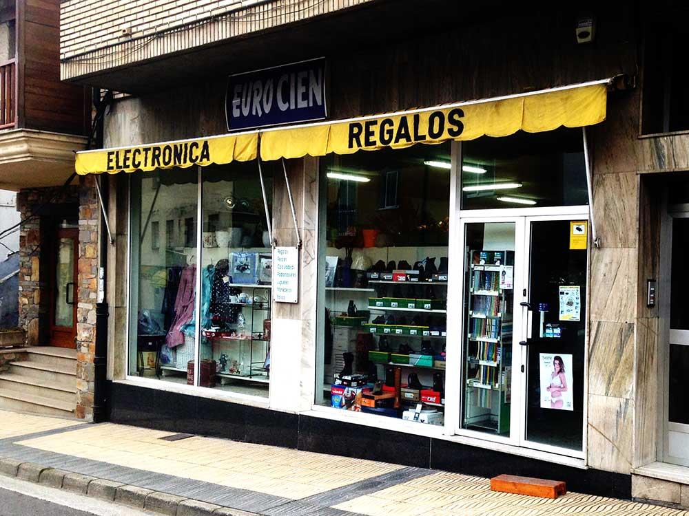'Eurocien' ,la tienda donde encontrar de todo en Vega de Espinareda 1
