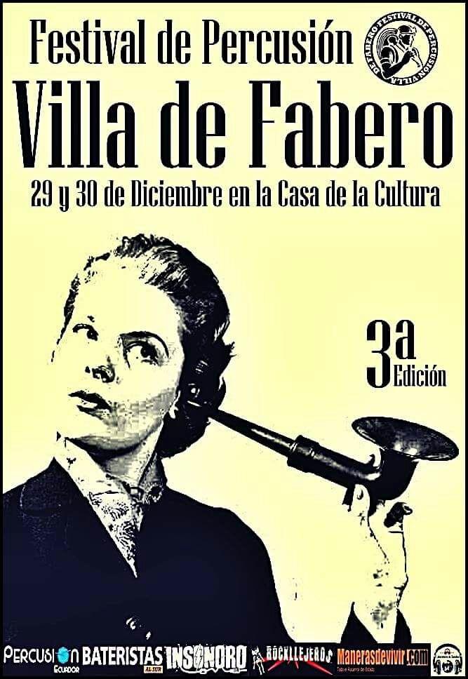 Fabero cierra el 2017 con la tercera edición del Festival de percusión 'Villa de Fabero' 1
