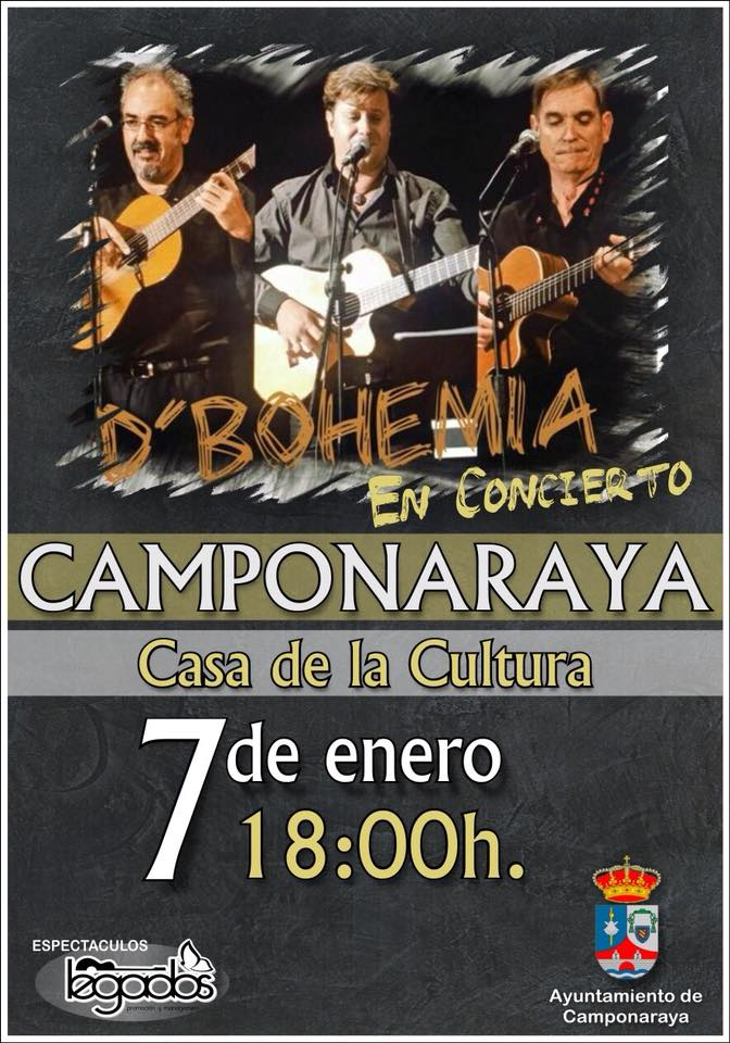 D'Bohemia harán disfrutar a Camponaraya a ritmo de boleros 1