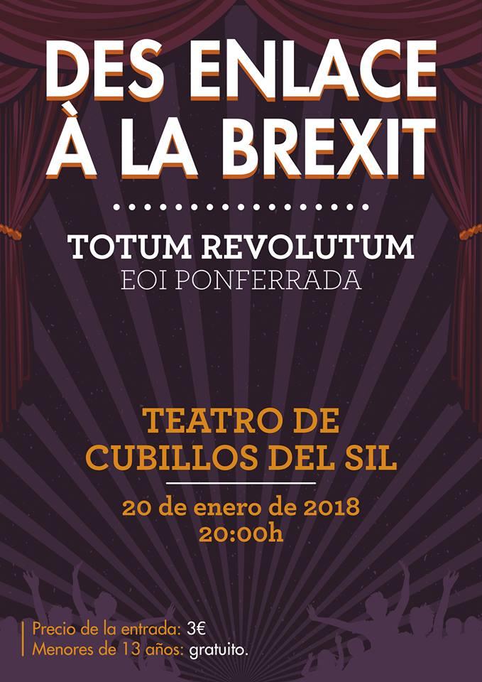 Teatro: Des enlace à la Brexit 1