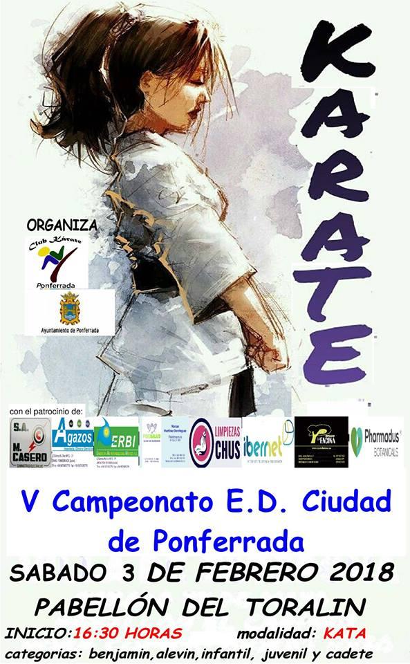 V Campeonato de Kárate Ciudad de Ponferrada 1