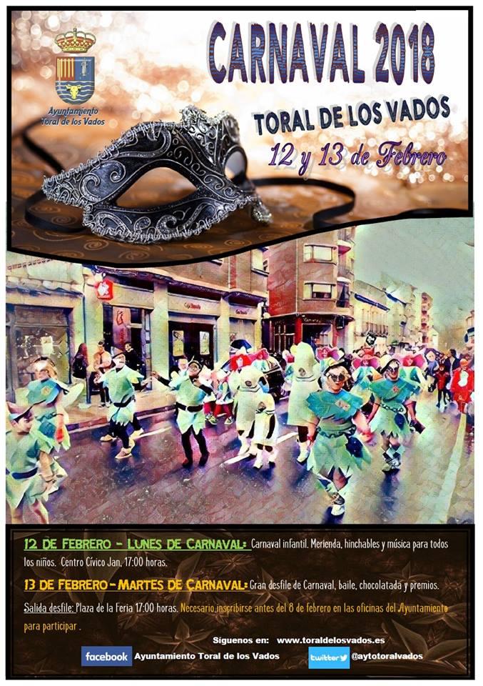 Carnaval 2018 en Toral de los Vados 1