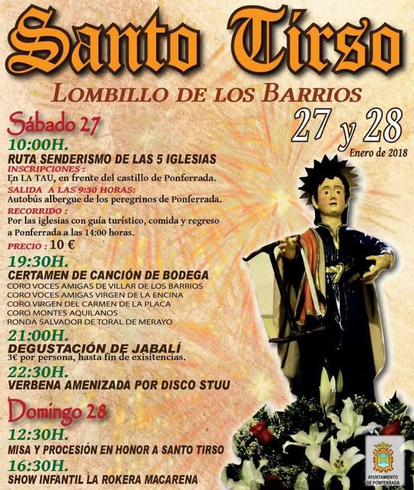 Santo Tirso 2018 en Lombillo 1