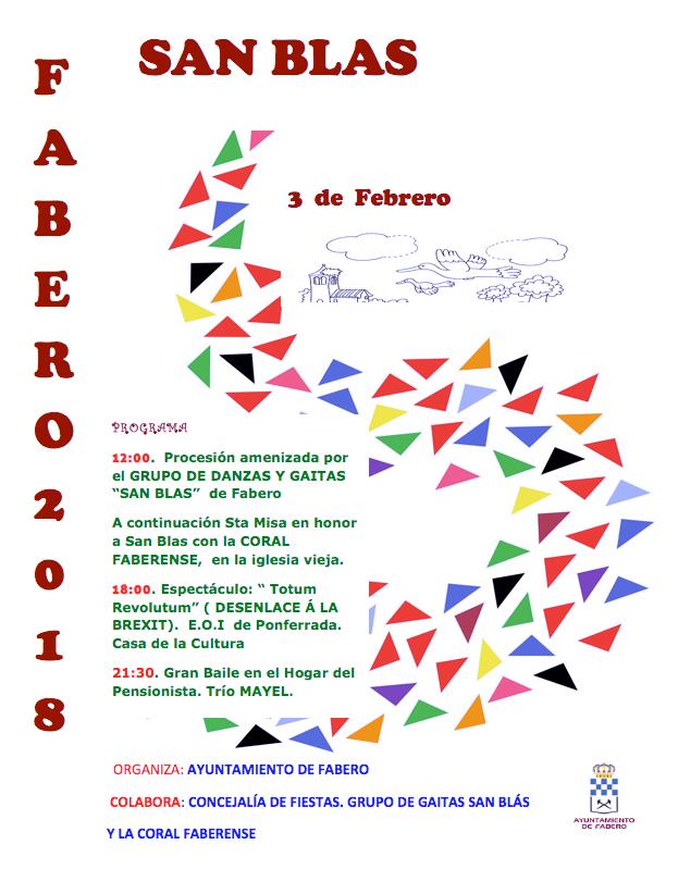 Fabero celebra San Blas 2018 1