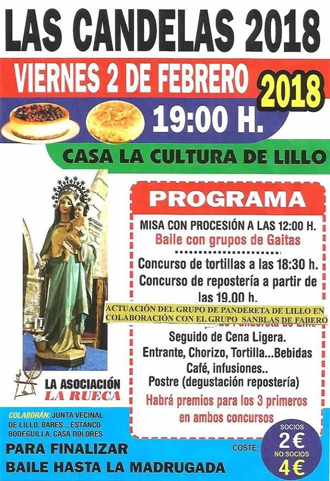 Lillo del Bierzo celebra Las Candelas 2018 1