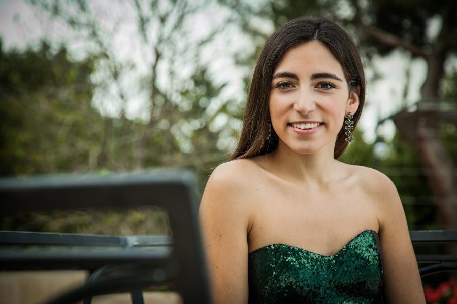 Concierto de soprano y piano en la temporada de Juventudes Musicales 1