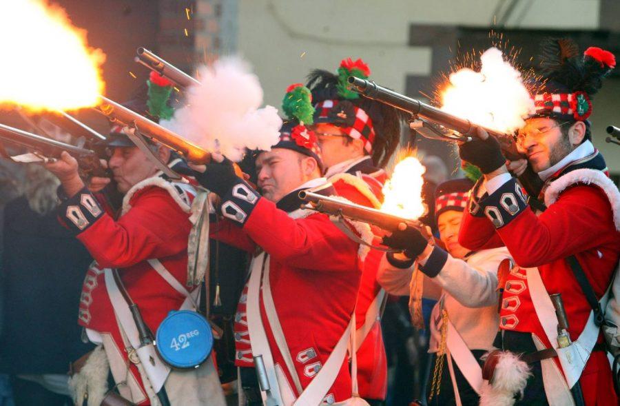 Acto de rememoración de la batalla de Cacabelos en su 209 Aniversario 1