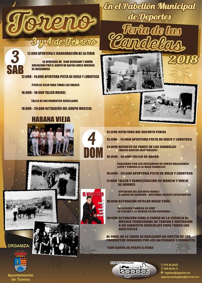 Feria de las Candelas 2018 en Toreno 1