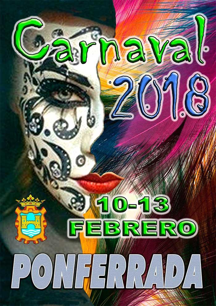 Programa del Carnaval 2018 en Ponferrada 1