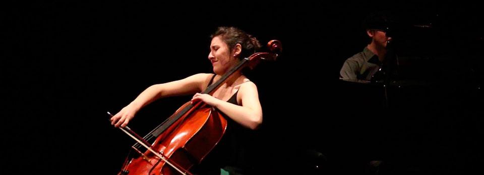 Concierto de violonchelo y piano en la temporada de Juventudes Musicales 1