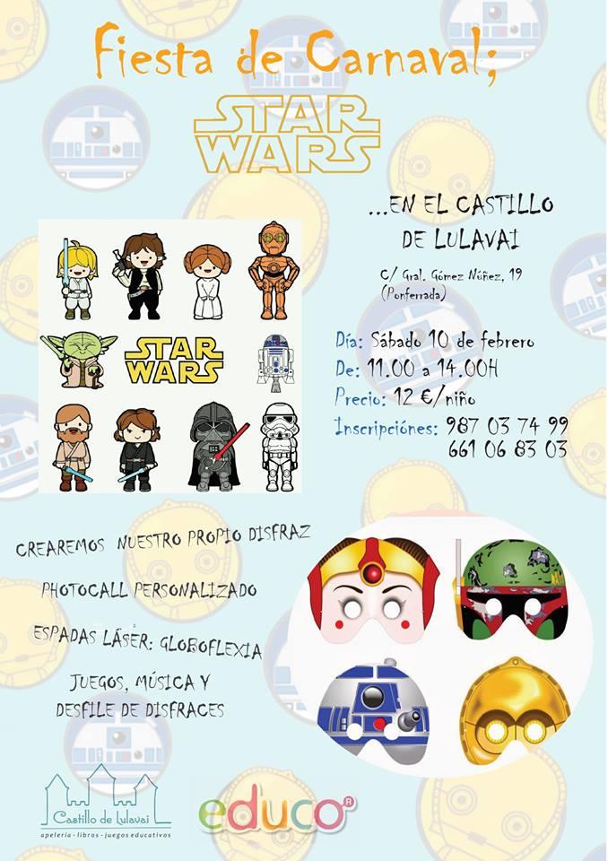 Fiesta temática Star Wars en Castillo de Lulavai 1