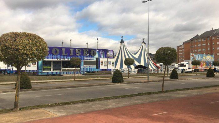 El Circo Coliseo llega a Ponferrada 1