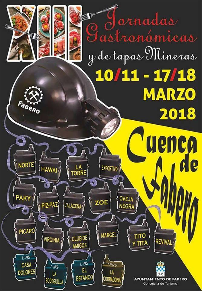 Los bares de Fabero celebran las XIII Jornadas Gastronómicas y de tapas mineras 1