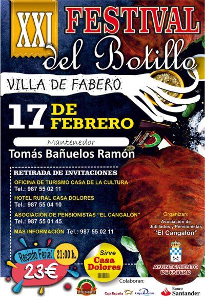 XXI Festival del Botillo Villa de Fabero 1