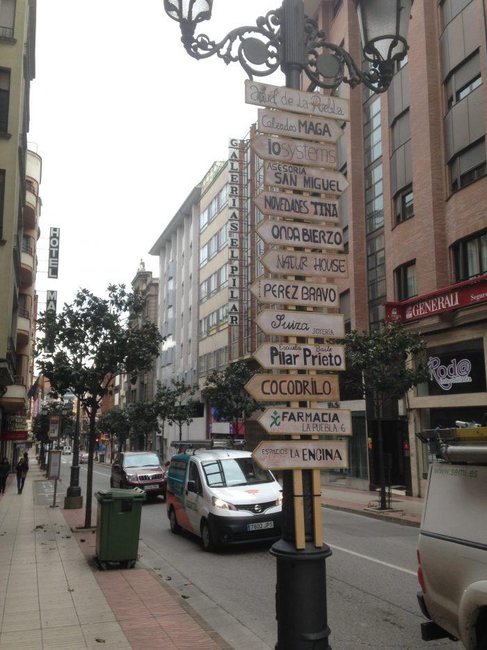 El precio promedio del alquiler de locales comerciales del centro de Ponferrada sigue superando los seis Euros por metro 1