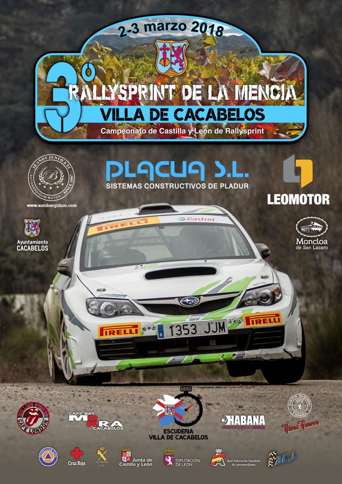 3er Rallysprint de la Mencía: Villa de Cacabelos 1