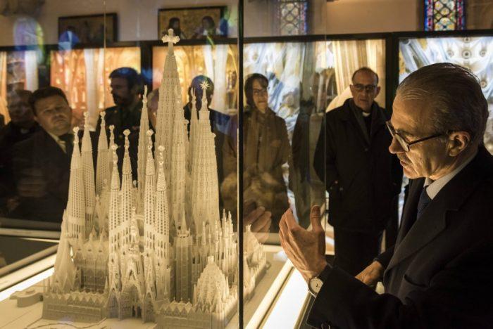 Astorga recibe en el Palacio Episcopal de Gaudí una exposición itinerante sobre la Sagrada Familia 1