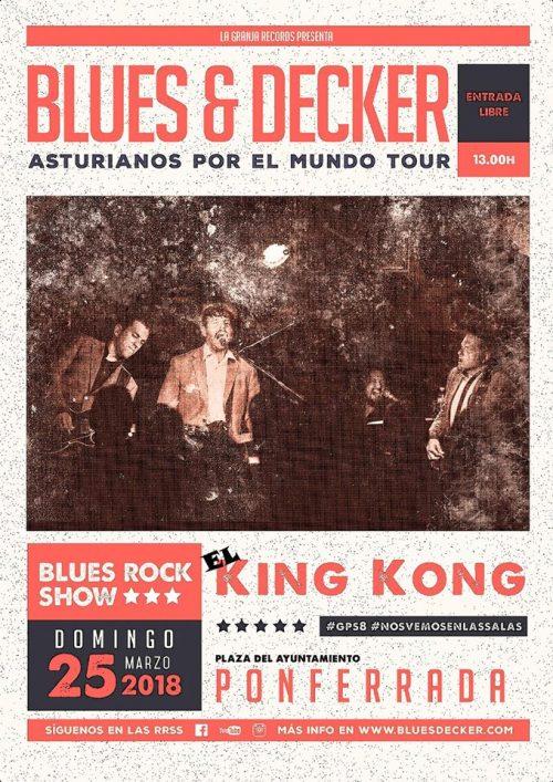 El King Kong celebra nueva matiné para el domingo con Blues & Decker 1