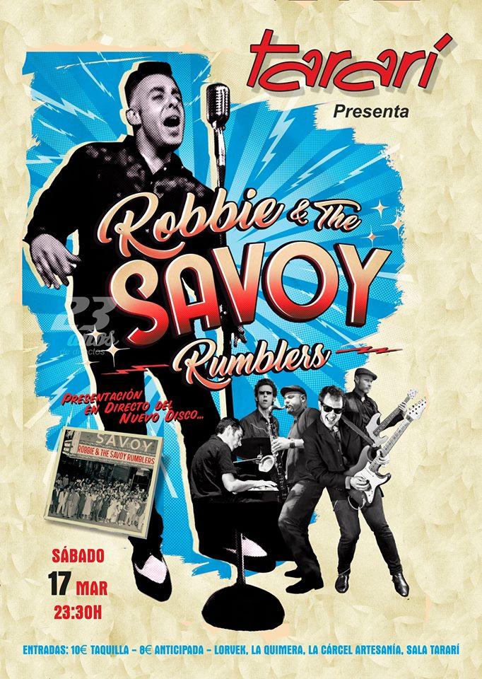 Robbie & The Savoy Rumblers en Concierto La Sala Tararí 1