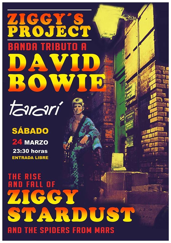 Concierto de Ziggy's Project -Tributo a DAVID BOWIE. 1