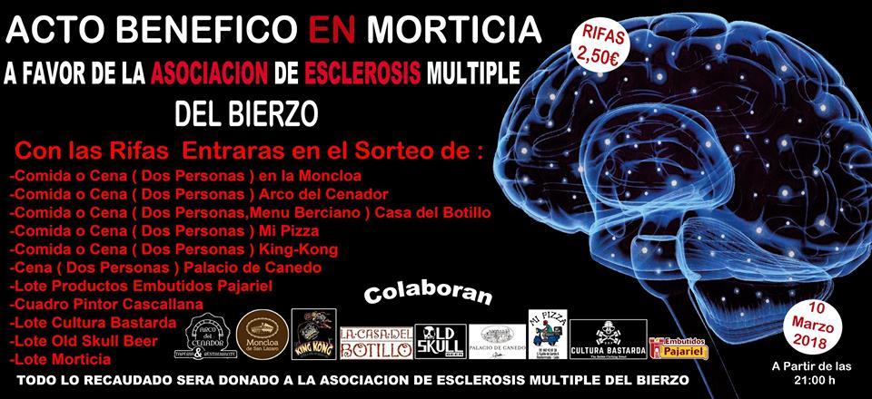 Morticia organiza un acto solidario con la Asociación de Esclerosis Múltiple del Bierzo 1