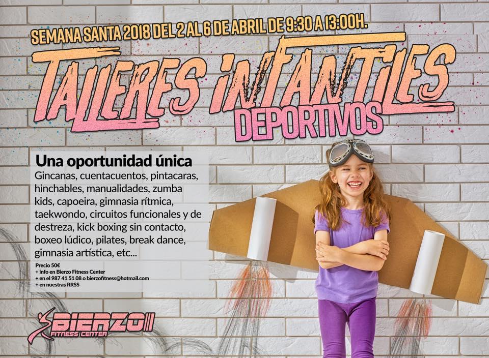 Bierzo Fitness Center organiza actividades infantiles para las vacaciones de Semana Santa 1