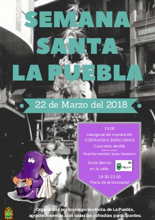 Los comerciantes de la Avenida de La Puebla vestirán la calle de Semana Santa 1