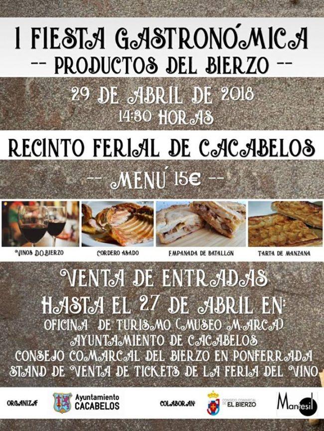 I Fiesta Gastronómica de Productos del Bierzo 1