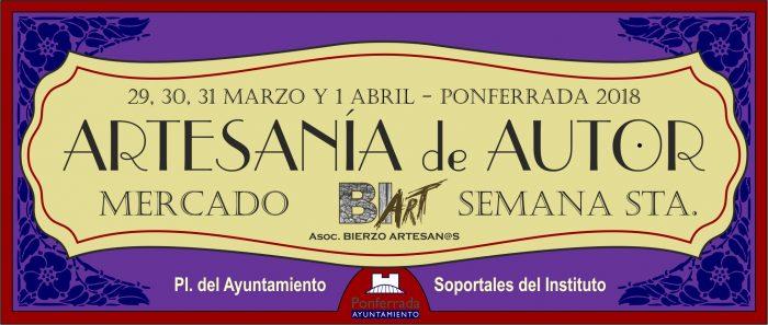Mercado de Artesanía de Semana Santa Ponferrada 2018 1
