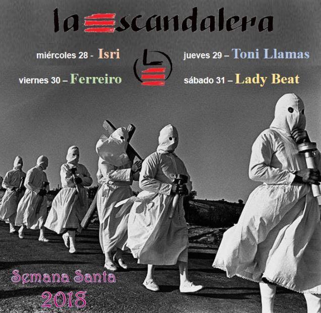 Esta Semana Santa, noches de Pasión en La Escandalera 1
