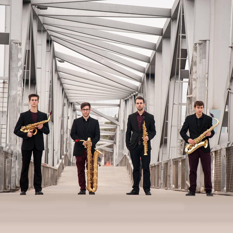 El cuarteto de saxofones Kebyart Ensemble, en la temporada de conciertos de Juventudes Musicales 1