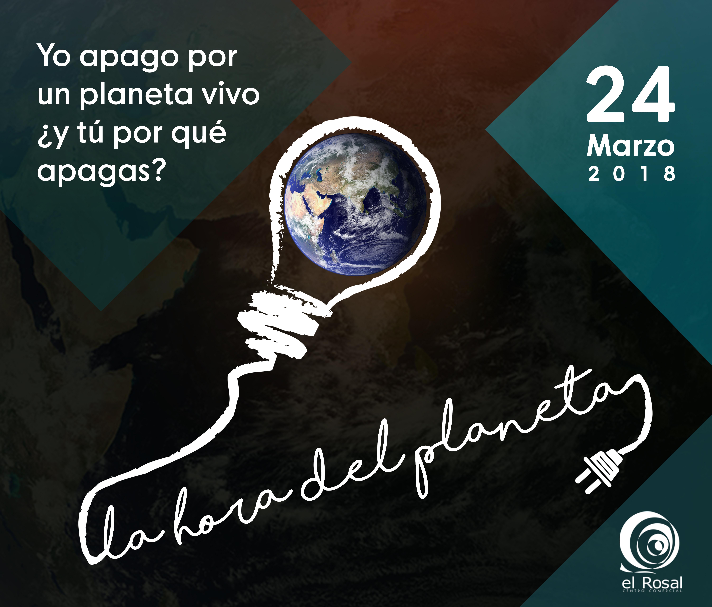 El CC El Rosal se una a La Hora del Planeta apagando la iluminación de su fachada 1