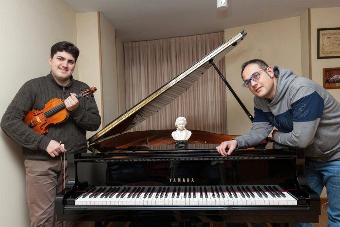 El dúo Abelardo Martín y Manuel Alejandre plantea interpretar la integral de las Sonatas para violín y piano de Beethoven 1