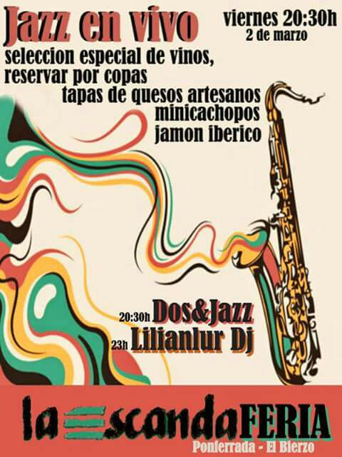 La Escandalera organiza 'Jazz en Vivo', la combinación de la mejor música en directo con una variada oferta gastronómica 1