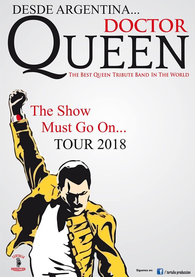 Dr Queen resucitará el espíritu de Queen en la Sala La Vaca 1