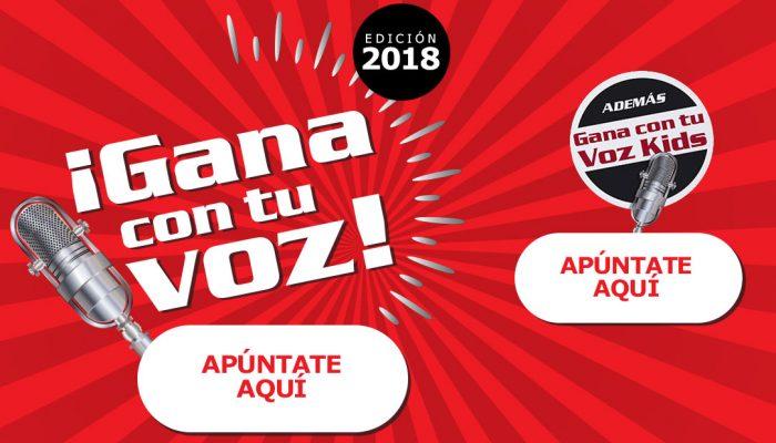 El Centro Comercial El Rosal trae a Ponferrada la segunda edición de 'Gana con tu voz' y también una edición Kids 1