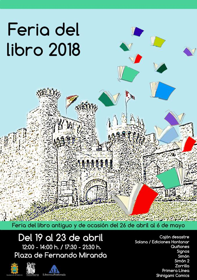 Programa Feria del libro de Ponferrada 2018 1