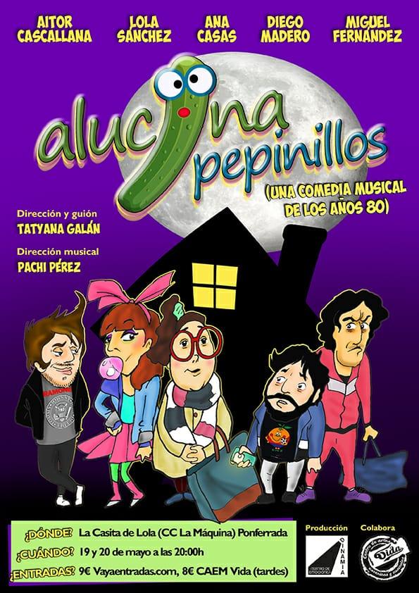 Dinamia Teatro recupera los recuerdos de los años 80 con 'Alucina pepinillos' a la Casita de Lola 1