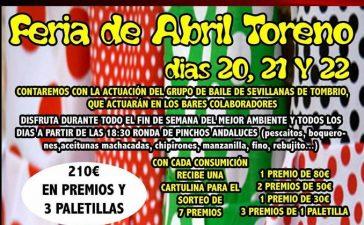 Toreno se arranca por sevillanas con su Feria de Abril 10