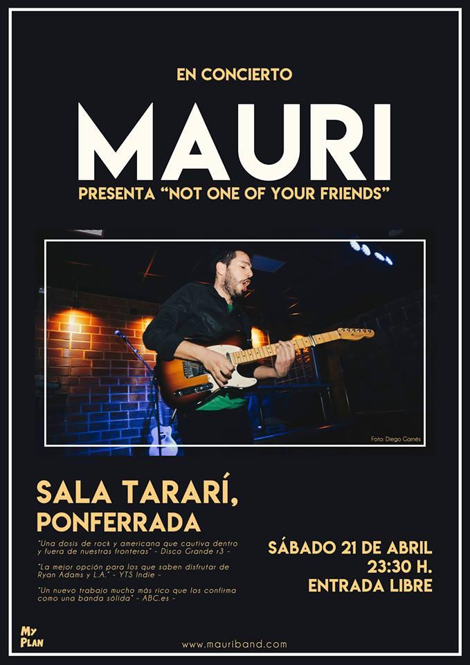 Concierto del toledano Mauricio Morante en Sala Tararí 1