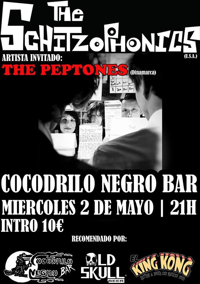 The Schizophonics + The Peptones en el Cocodrilo Negro 1
