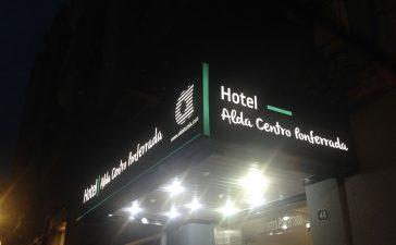 Adíos Hotel Madrid, hola Alda Centro Ponferrada 2