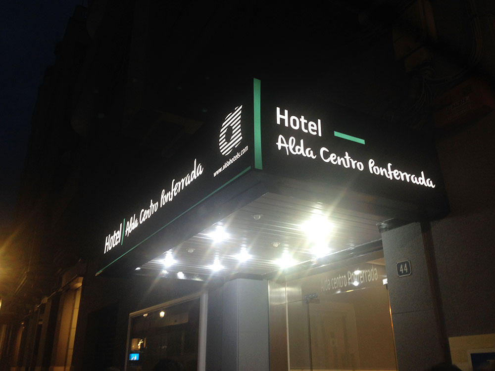 Adíos Hotel Madrid, hola Alda Centro Ponferrada 1