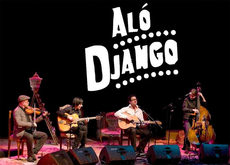 Aló Django, la apuesta para este viernes en el Lounge del Hotel AC ponferrada 1