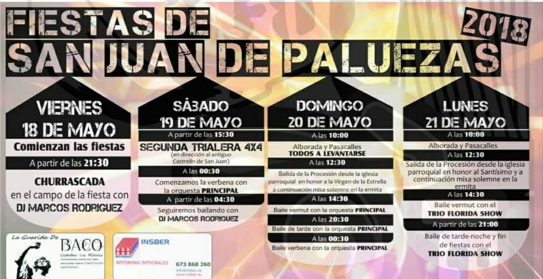 Grandes Fiestas en San Juan de paluezas 2018 1