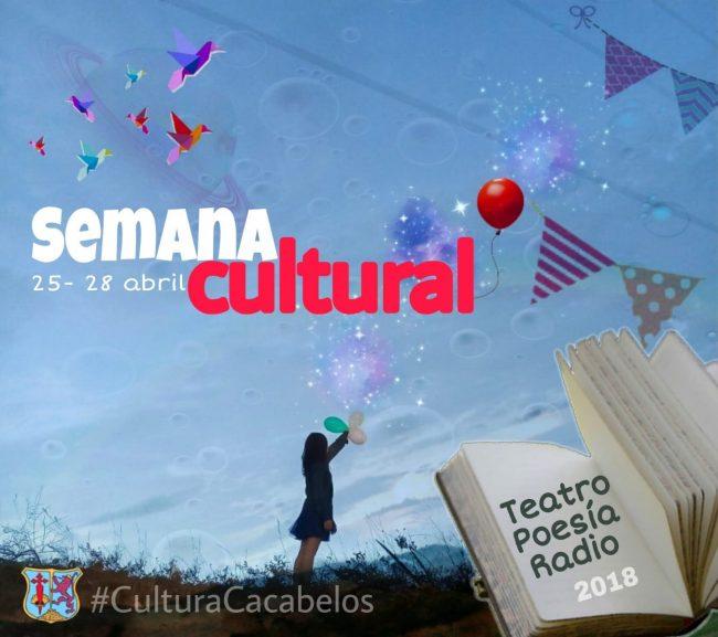 Cacabelos celebra su Semana Cultural del 25 al 28 de abril de 2018 1